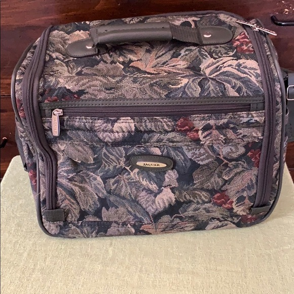 Vintage Jaguar carry-on bag